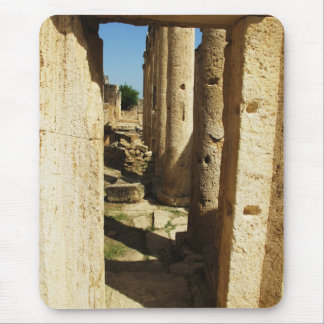 Ancient city of Hierapolis in Turkey Mouse Pad