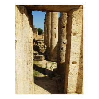 Ancient city of Hierapolis in Turkey Postcard