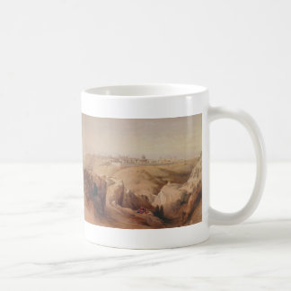 Ancient City of Jerusalem from the Mount of Olives Coffee Mug