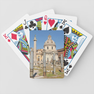 Ancient city of Rome, Italy Bicycle Playing Cards