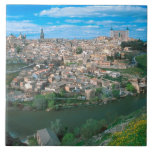 Ancient city of Toledo, Spain. Ceramic Tile