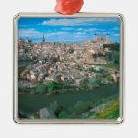 Ancient city of Toledo, Spain. Christmas Ornament