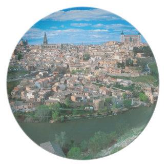 Ancient city of Toledo, Spain. Dinner Plates