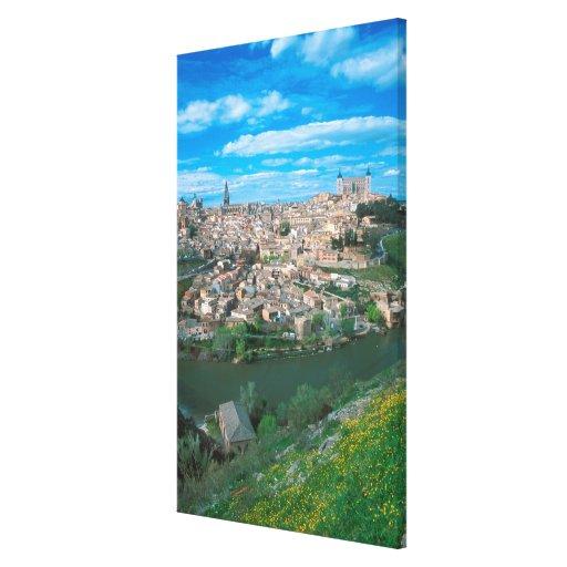 Ancient city of Toledo, Spain. Gallery Wrap Canvas