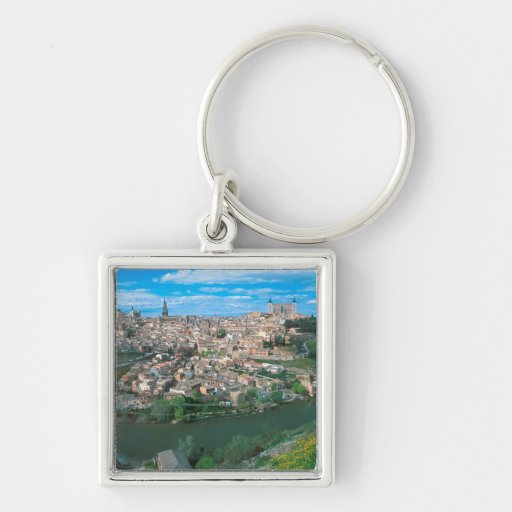 Ancient city of Toledo, Spain. Key Chains
