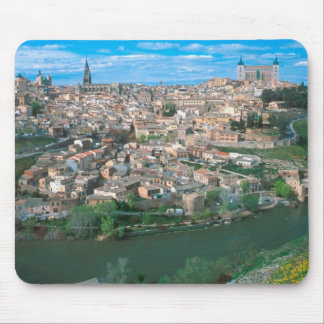 Ancient city of Toledo, Spain. Mouse Pads