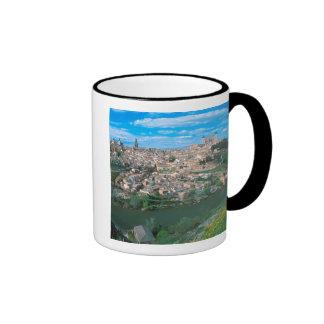 Ancient city of Toledo, Spain. Ringer Coffee Mug