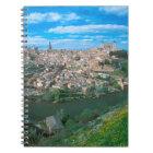 Ancient city of Toledo, Spain. Notebook