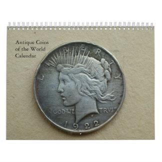 Ancient Coins Photography Collection Calendar