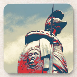 Ancient Colosseum Spartan Warrior Roman Gladiator Beverage Coaster