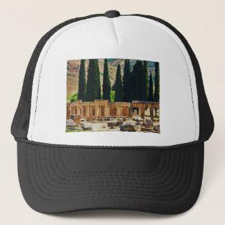 Ancient columns  Hierapolis, Turkey Trucker Hat