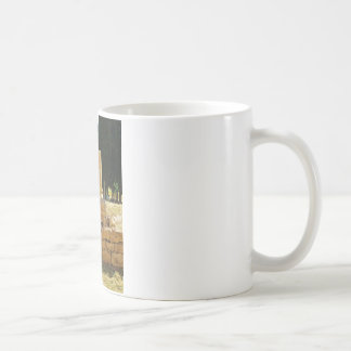 Ancient columns in Pamukkale, Hierapolis, Turkey Coffee Mug