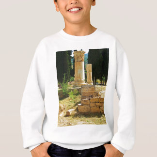 Ancient columns in Pamukkale, Hierapolis, Turkey Sweatshirt