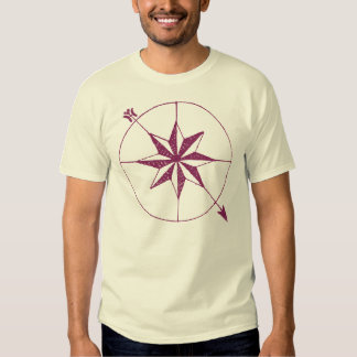 Ancient Compass Antique Map Collector Symbol T-Shirt