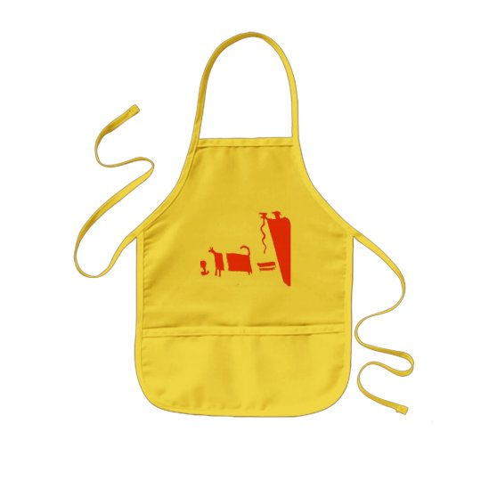 Ancient cook kids' apron