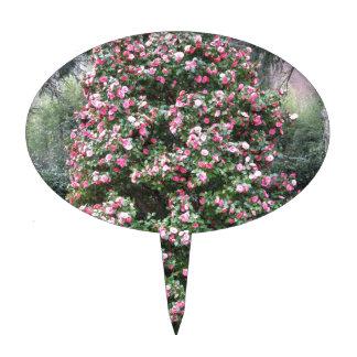 Ancient cultivar of Camellia japonica flower Cake Topper
