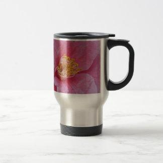 Ancient cultivar of Camellia japonica flower Travel Mug