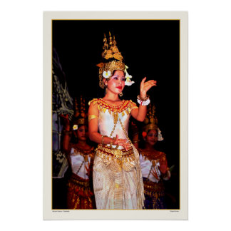 Ancient Dance - Cambodia Poster