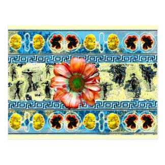 Ancient Dance Postcard