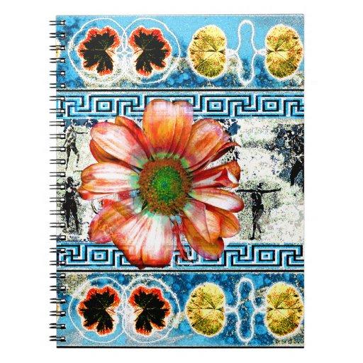 Ancient Dance Spiral Note Book