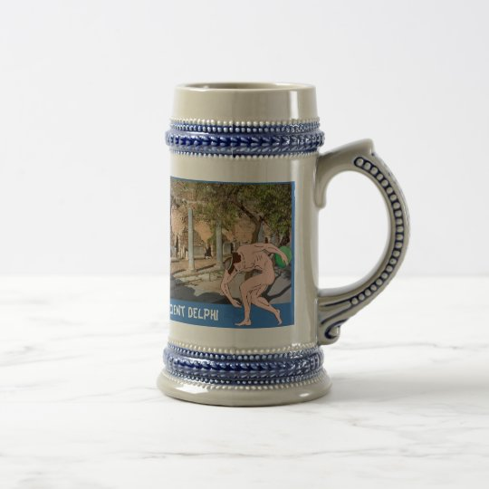 Ancient Delphi Beer Stein
