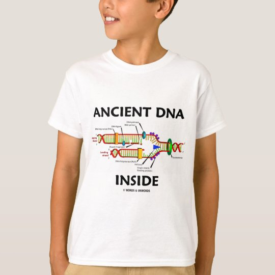 Ancient DNA Inside (DNA Replication Humor) T-Shirt