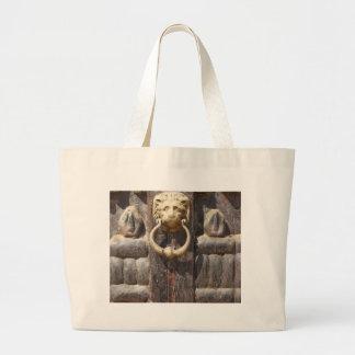 Ancient Door with Lion Knocker Bag