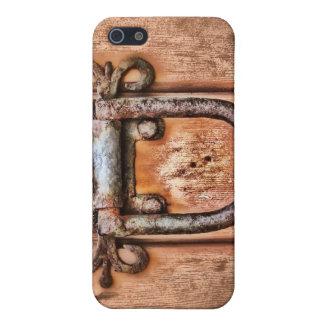 Ancient Door Wood Grain  iPhone SE/5/5s Cover