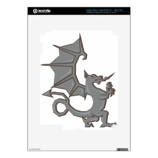 Ancient Dragon Decal For iPad 3