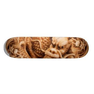 Ancient Dragon Fierce Good Luck Skateboard Deck