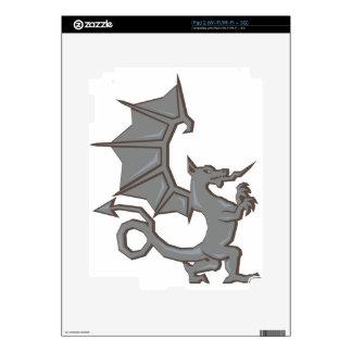 Ancient Dragon Skins For iPad 2