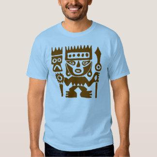 Ancient drawing Peru Warrior T-shirt