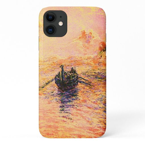 Ancient Dream Rowing Boat iPhone 11 Case