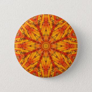 """Ancient Echoes"" Crystal Mandala Button"