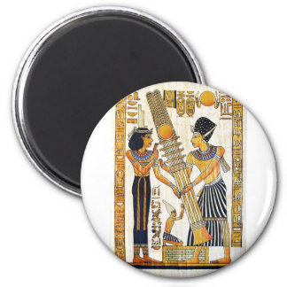Ancient Egypt 1 2 Inch Round Magnet