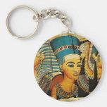 Ancient Egypt 3 Basic Round Button Keychain