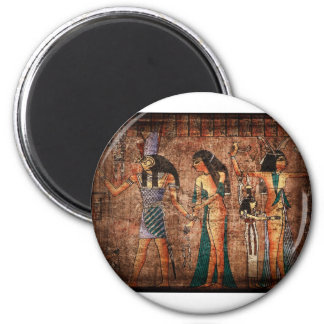 Ancient Egypt 4 2 Inch Round Magnet