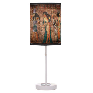 Ancient Egypt 4 Table Lamps