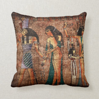 Ancient Egypt 4 Throw Pillow