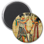 Ancient Egypt 5 2 Inch Round Magnet