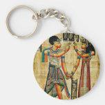 Ancient Egypt 5 Basic Round Button Keychain