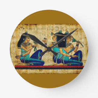 Ancient Egypt 6 Round Clock
