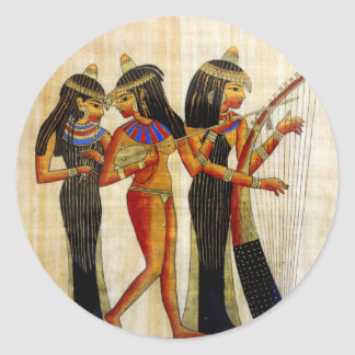 Ancient Egypt 7 Classic Round Sticker