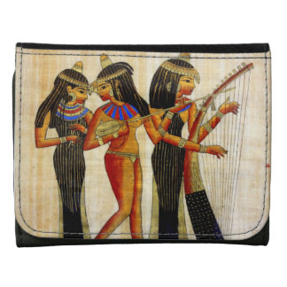 Ancient Egypt 7 Leather Wallet