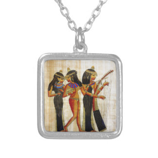 Ancient Egypt 7 Silver Plated Necklace