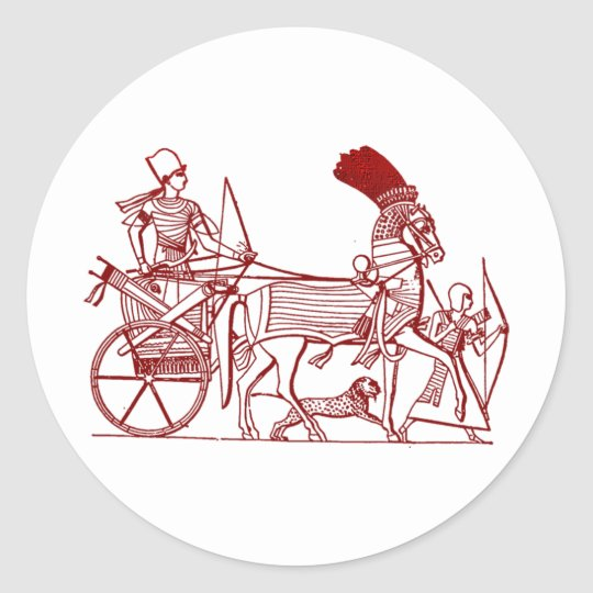 Ancient Egypt Classic Round Sticker