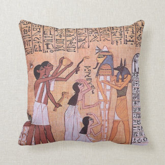 Ancient Egypt Daily Life Pillow