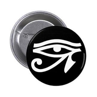 Ancient Egypt Eye Symbol Button