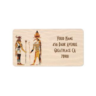 Ancient Egypt Gods Address Label