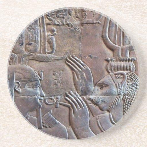 Ancient Egypt Hieroglyphics Coaster